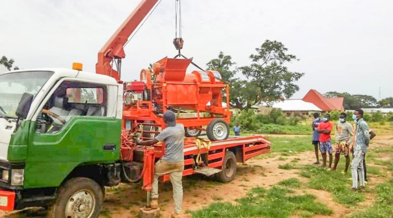 Yendi receives ReDIAL's second batch of multi-crop threshers